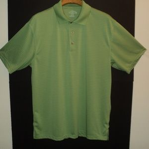 Champions Tour XL Polo Shirt Green Short Sleeves